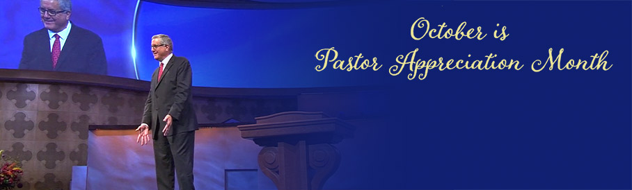 Pastors Appreciation Month