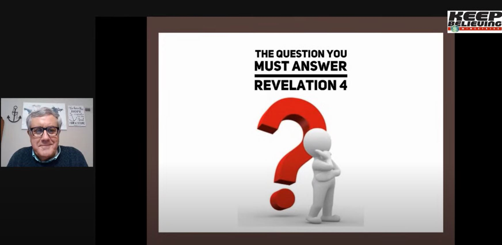 The Question You Must Answer (Revelation 4)