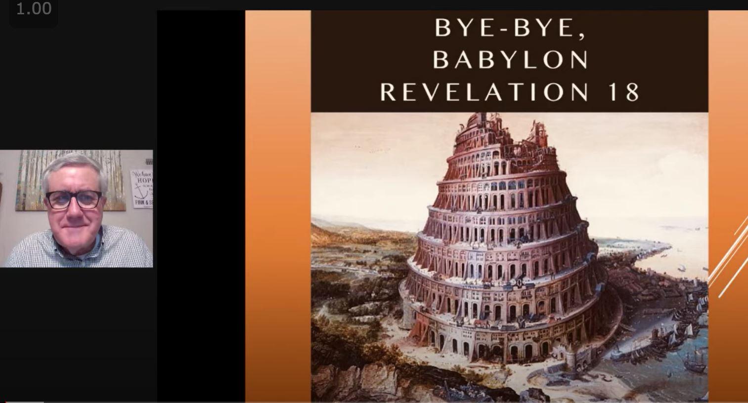 Bye-Bye, Babylon (Revelation 18)