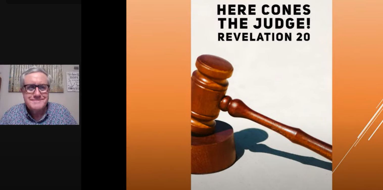 Here Comes the Judge! (Revelation 20)