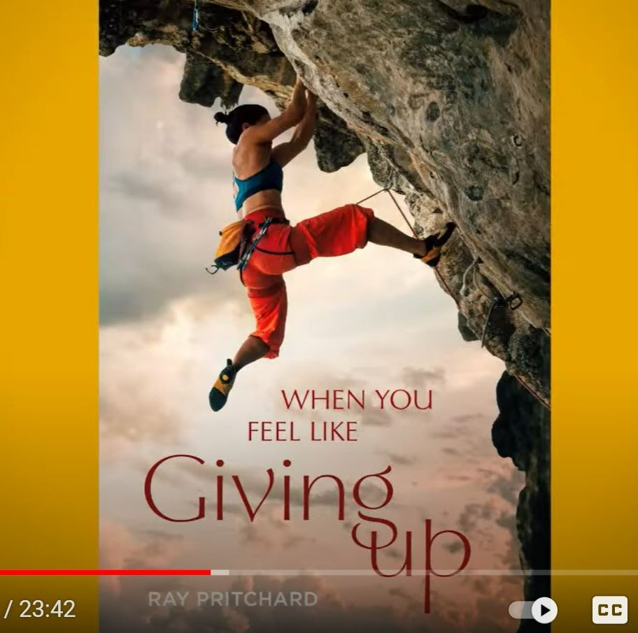 """New Video: """"When You Feel Like Giving Up"""""""