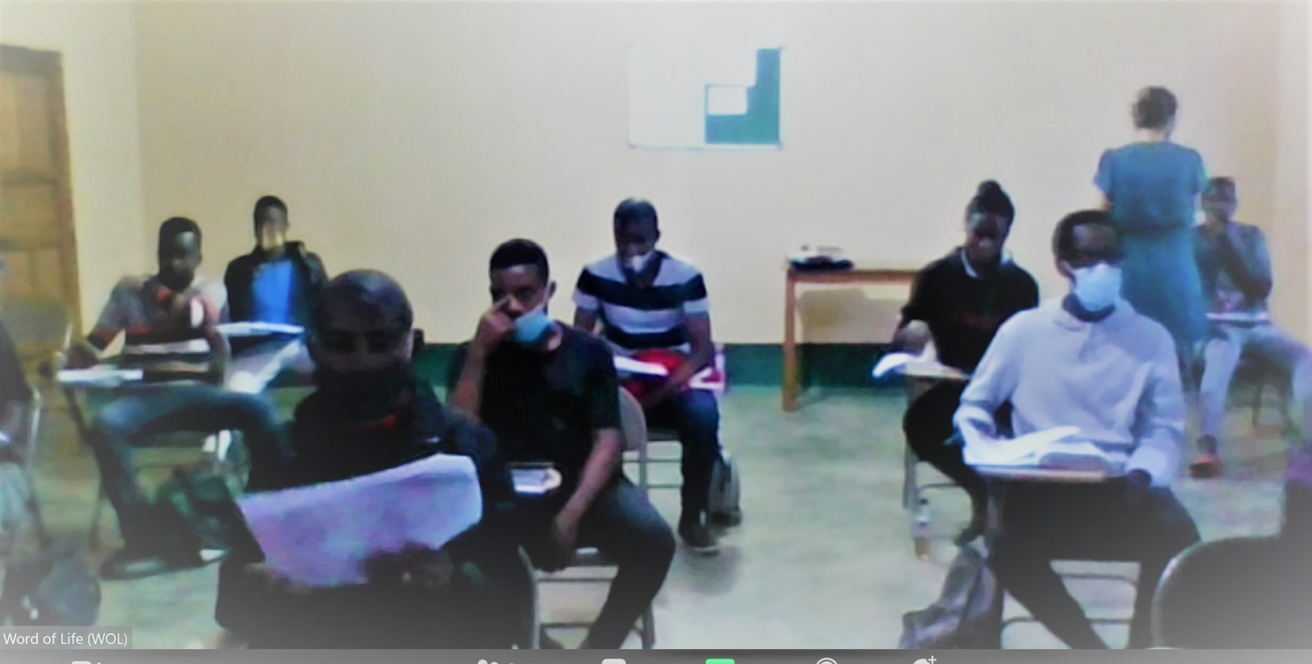 A Zoom View of My Hebrews Class in Uganda