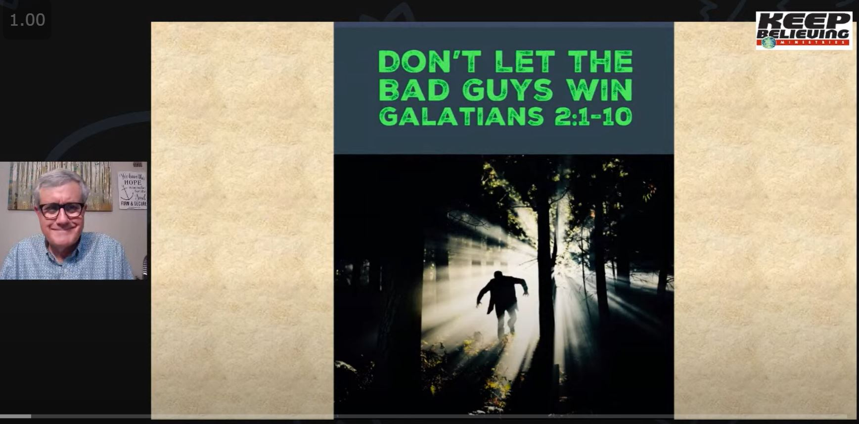 Don't Let the Bad Guys Win (Galatians 2:1-10)