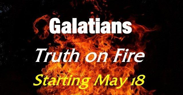 Galatians Class Begins May 18