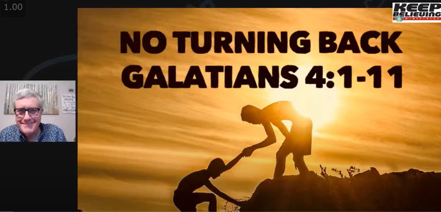 No Turning Back (Galatians 4:1-11)