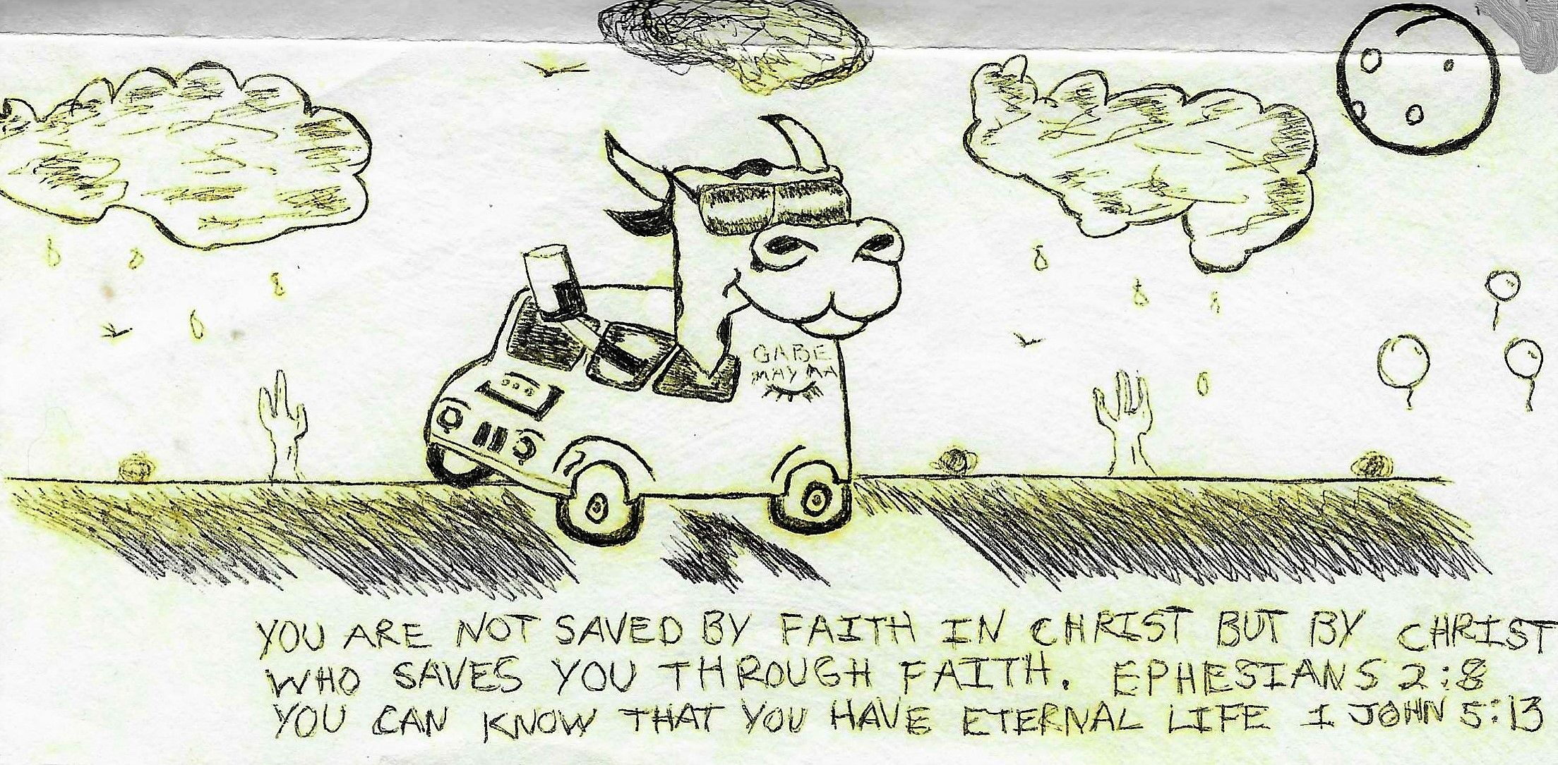 J-Cat Meets Jesus