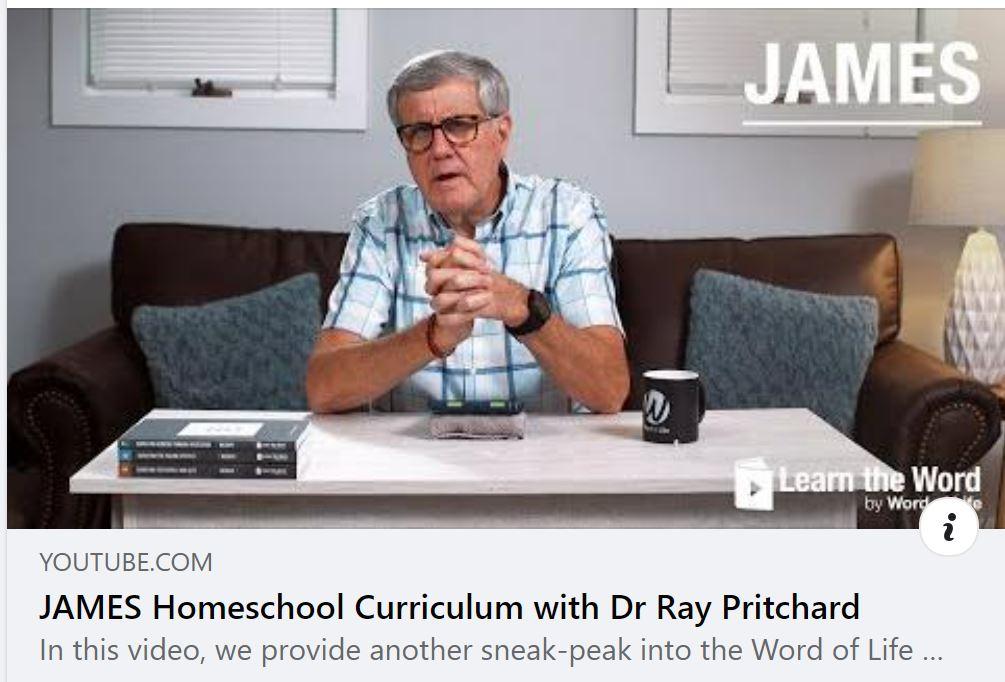 New Video: James  for WOL Homeschool Curriculum